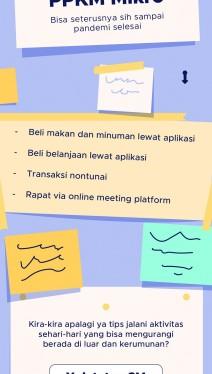 Tips Jalani Aktivitas Selama PPKM Mikro