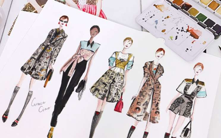 Ilustrasi fashion - istimewa