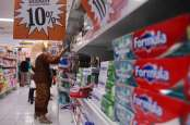 Penjualan Bahan Makanan Turun Lebih Dalam di Ritel Tradisional