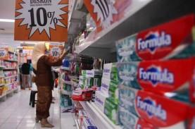 Penjualan Bahan Makanan Turun Lebih Dalam di Ritel…