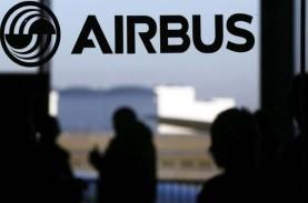 Airbus Sukses Kirim 50 Unit Pesawat Jet Sepanjang…