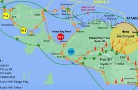 Perkuat Jaringan di Papua, Telkom Kebut Pembangunan SKKL Cadangan