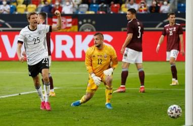 Hasil Uji Coba Piala Eropa (Euro 2020), Jerman & Ukraina Pesta Gol