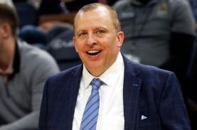 Tom Thibodeau dari New York Knicks Jadi Pelatih Terbaik…