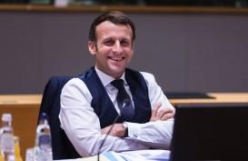 Komentar Presiden Prancis Macron setelah Ditampar di Muka Umum