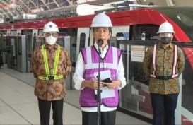 Jokowi Pamer LRT Jabodebek Buatan Dalam Negeri, Ingin Bisa Diekspor