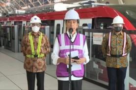 Jokowi Pamer LRT Jabodebek Buatan Dalam Negeri, Ingin…