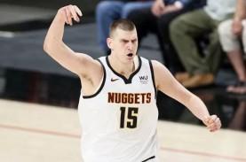 Nikola Jokic Pemain Terbaik Liga Basket NBA Musim…