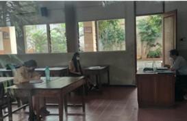Pembelajaran Tatap Muka, Kelas di SMK Bethel Dihadiri 9 Siswa