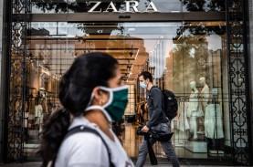 Sebagian Besar Toko Kembali Buka, Pendapatan Zara…