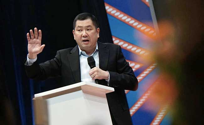 Executive Chairman MNC Group Hary Tanoesoedibjo. Bisnis - Himawan L Nugraha
