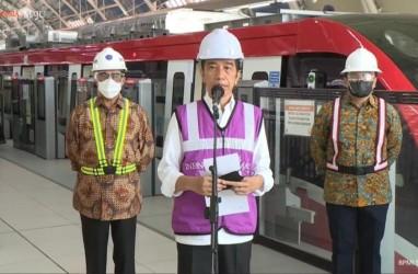 Jokowi Tinjau LRT Jabodebek, MTI: Akses ke Stasiun Perlu Disiapkan