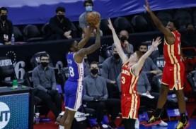 Basket NBA : Embiid Gemilang, Sixers Bikin Skor 1–1…