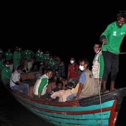 Imigran Rohingya Dari Aceh Direlokasi Ke Medan