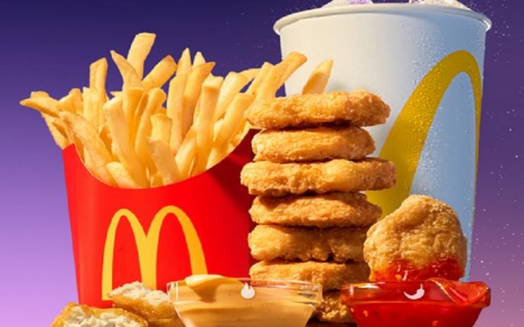 Paket BTS Meal. JIBI - Bisnis/Nancy Junita @McDonalds_ID
