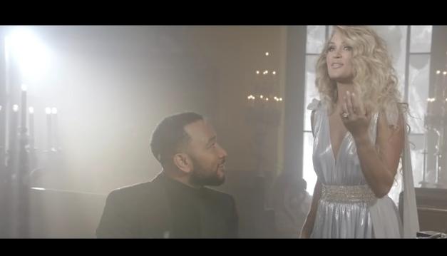 John Legend dan Carrie Underwood kantongi kemenangan CMT Music. - tangkapan layar