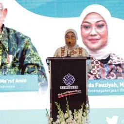 Menaker Ida Fauziyah Lantik Pengurus Forum BLK