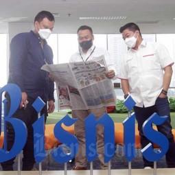 PT Pertamina International Shipping Berkunjung ke Redaksi Bisnis Indonesia
