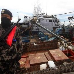 19 Kapal Ikan Ilegal Berbendera Malaysia, Vietnam dan Filipina Ditangkap di Perairan Natuna