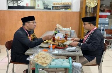 Ramai Pilpres 2024, Anies Baswedan dan Ridwan Kamil Sarapan Bareng di Sumedang