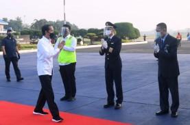 Bertolak ke Purbalingga, Jokowi akan Tinjau Bandara…