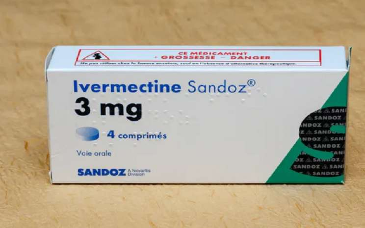 Obat cacing ivermectine. - Istimewa