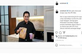 Erick Thohir Pamer Beli BTS Meal, Rela Beli untuk…