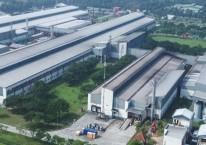 Aktivitas di salah satu pabrik PT HM Samporena Tbk tampak dari ketinggian/www.sampoerna.com