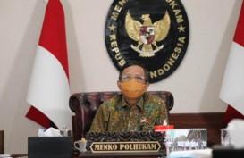 Revisi UU ITE, Mahfud MD: Hanya Korban yang Boleh Melapor