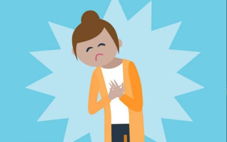 Ilustrasi sakit dada - istimewa