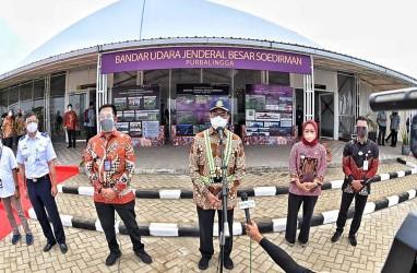 Bandara JB Soedirman Mampu Layani 3.000 Orang per Hari
