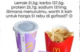 Viral BTS Meal McD, Ini Rincian Kalori per Porsinya!