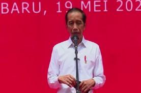 Tanggapi Gelar Profesor Kehormatan Megawati, Jokowi:…