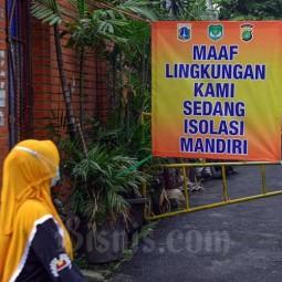 Satu RT di Jakarta Dikarantina Setelah 22 Warganya Positif Covid-19