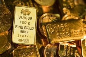 Dolar Menguat, Harga Emas Tergelincir ke US$1.879