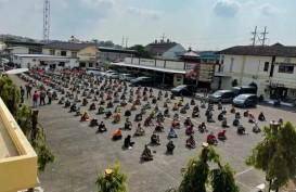 Ratusan Preman di Semarang Diamankan