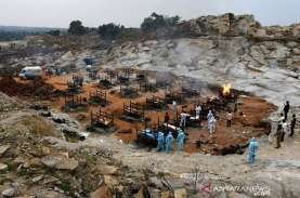 Angka Resmi Kematian Akibat Covid-19 di India Semakin…