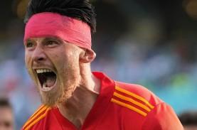 Hasil Wales vs Swiss Berakhir Seri, Gol Sundulan Embolo…