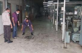 Polisi Dalami Pemicu Kebakaran Pabrik Tekstil di Karanganyar