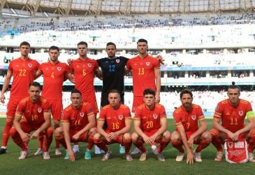 Komposisi Aneh Foto Timnas Wales Berlanjut di Euro 2020, Jimat?