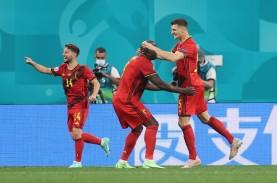 Dua Rekor Euro Tercipta dalam Laga Belgia vs Rusia,…