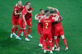 Kalahkan Rusia 3-0, Belgia Pimpin Klasemen Grup B…