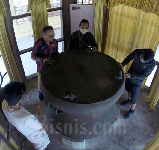 Situs Gong Nekara di Kabupaten Kepulauan Selayar Ramai Dikunjungi Wisawatan