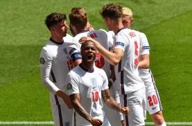 Hasil Inggris vs Kroasia: Gol Sterling Bawa Inggris…