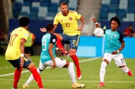 Copa America 2021: Gol Cantik Cardona Bawa Kolombia…