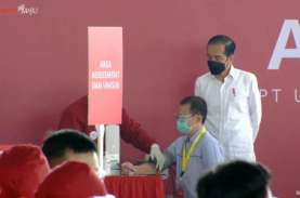 Genjot Vaksinasi, Jokowi: Kita Ingin Hambat Covid-19…