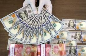 Dolar AS Perkasa, Rupiah Parkir di Zona Merah Ikuti…