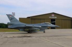 Pesawat Tempur F-16 Amerika Serikat Tiba di Riau,…