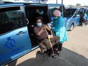 Blue Bird Gandeng Kemenkes Fasilitasi Penyandang Disabilitas Mendapatkan Vaksin Covid-19