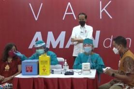 Libatkan TNI-Polri, Jokowi Ingin Target Vaksinasi…